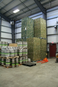 Bale Breaker beer cans and kegs ready for their frothy brew!